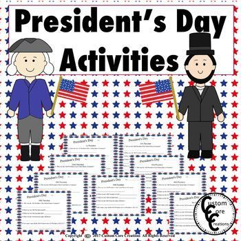 This resource will be a fun and interesting activity for all of your students. this resource will get your students knowledgeable about the most famous President's in history. This resource will get your students researching facts about these President's.