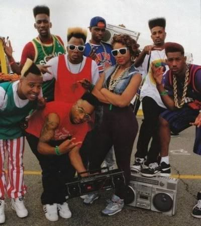 Hip-hop Fashion- Involved lots of jewelry like gold chains, sneakers and sports wear. Companies like Adidas and Nike were the mostly worn. Bomber jackets were also part of the hip hop fashion.