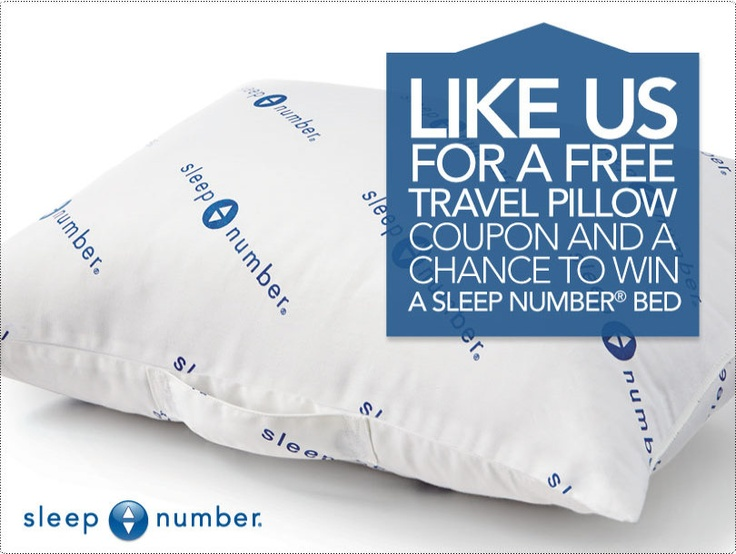 Coupon for a Free Sleep Number Pillow | Pillows, Sleep ...