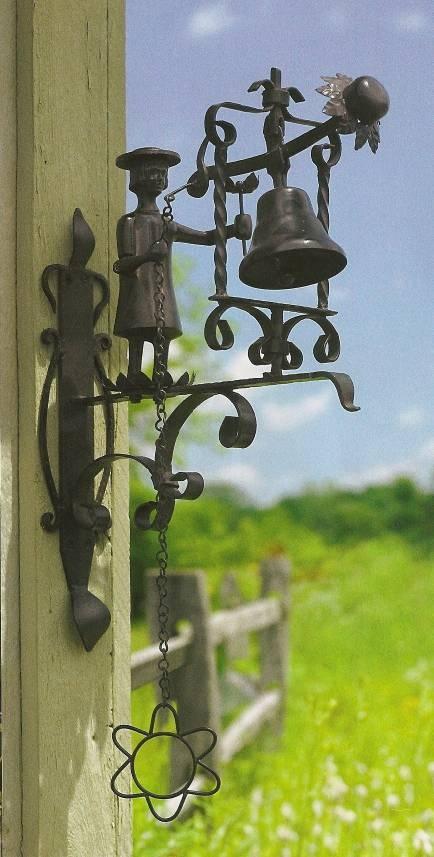 bell: Doors, Gift, Dinner Bell, Powers Dinner, Mackenzie Childs, Dinners, Door Bells, Garden