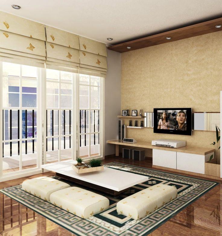 Desain Interior Ruang Keluarga Lesehan Check More At Desainrumahkita Net