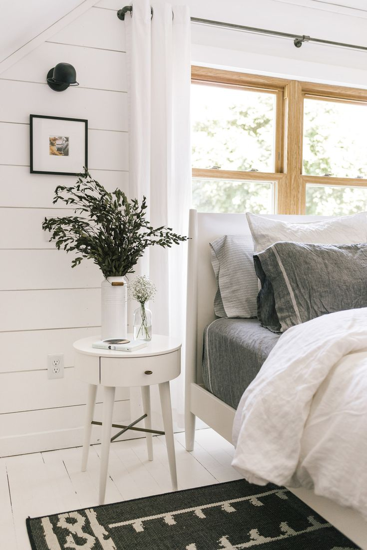 West Elm Mid-Century Bed White $999 vs World Market White Wood Brewton Bed* $750 white mid century bed look for less copycatchic luxe living for less budget home decor and design daily finds