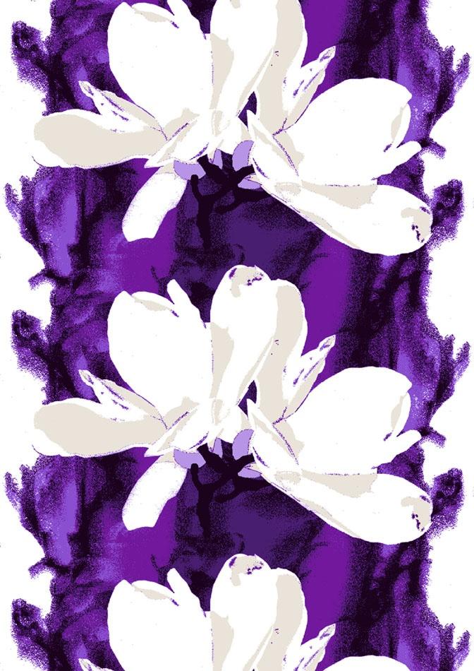 Talven kukka lila by Markku Piri