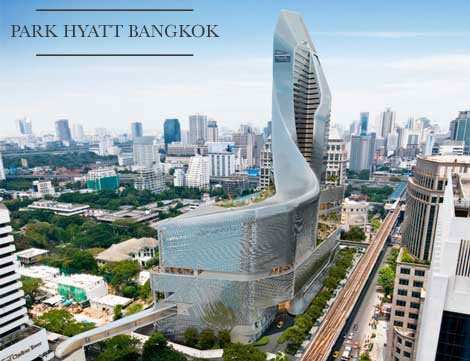 Park Hyatt Bangkok announced, set to open 2014