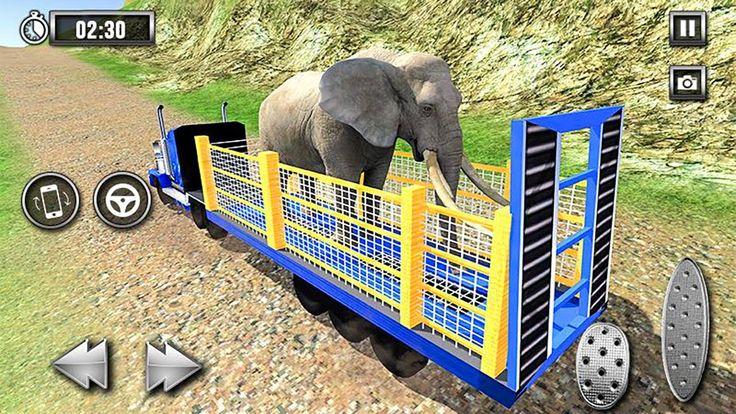 Wild Animal Zoo Transporter 3d Truck Driving Android Gameplay Animals Wild Animals Save Wildlife
