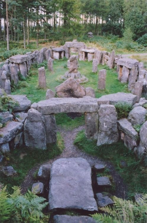travelocean288:  Druid temple North Yorkshire England //Druids may have used these sites but they were already old when the Celts arrived in Britain. .