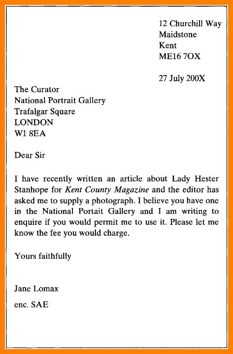 The 25+ best Format of formal letter ideas on Pinterest Formal - formal request letter
