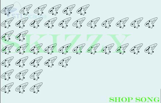 Shop Song Ocarina Music Ocarina Tabs Songs