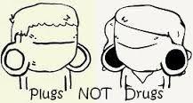 Výsledek obrázku pro plugs not drugs
