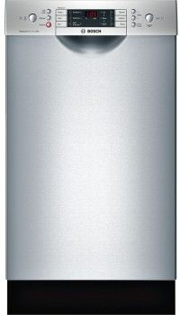 Bosch SPE68U55UC 18 Inch Full Console Dishwasher with 10 Place Settings, 6 Wash Cycles, 3 Adjustable Racks, ActiveTab Tray, Silence Rating of 44 dBA and Energy Star Rated