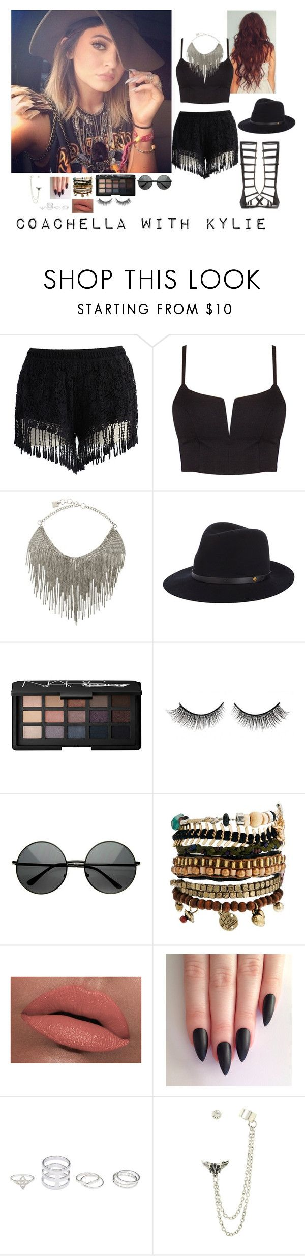 """""""Coachella With Kylie (Songs w/ it)"""" by shay-1d ❤ liked on Polyvore featuring mode, Kendall + Kylie, Chicwish, BCBGMAXAZRIA, rag & bone, NARS Cosmetics, Rimini, ZeroUV, Pull&Bear et LORAC"""