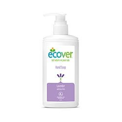 Ecover Liquid Hand Soap 250mlNaturally refreshing - with gentle lavender scent.   - Suitable for sensitive skin.   - Contains aloe vera and is PH neutral.   Aloe Vera is a natural soother that can alleviate the pain of cuts, burns or general irritation and inflammation.  Aloe vera is also known to help slow down the appearance of wrinkles as it can actively repair the damaged skin cells that cause the visible signs of aging
