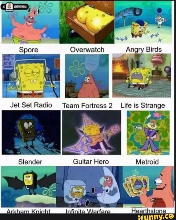 cod, overwatch, tf2, spooky, true