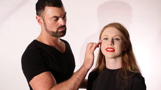 Perfect Face Ep 6- Contouring #frockadvisor #SonyaLennon #BrendanCourtney #DerrickCarberry #Makeup #PerfectWinterFace #Contouring #AW13