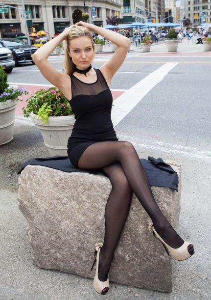 Nude in public streets