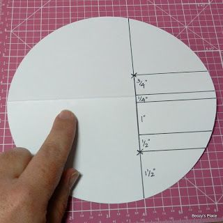 Beccy's Place: Technique Class - Circle Side-Step Card