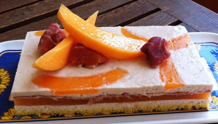 torta prosciutto e melone