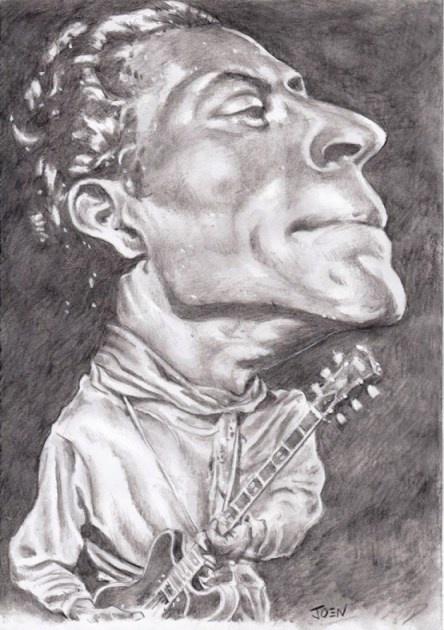 Chuck Berry by Joen