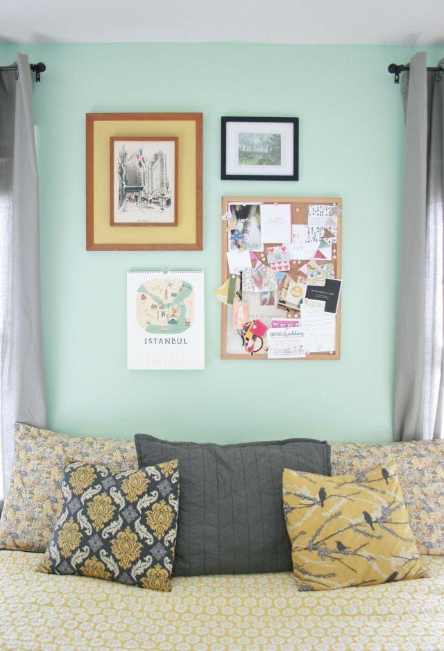 1000 Ideas About Yellow Headboard On Pinterest