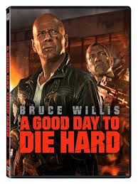 HMV DVD pick of the week is A Good Day To Die Hard featuring Bruce Willis.  Get your copy for just £9.99