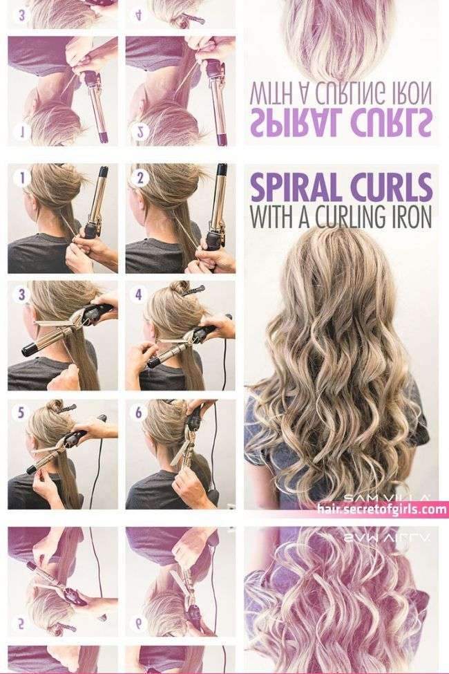 How To Curl Your Hair 6 Different Ways To Do It Curls For Long Hair How T Curl C How To Curl Your Hair Curls For Long Hair Long Hair Styles