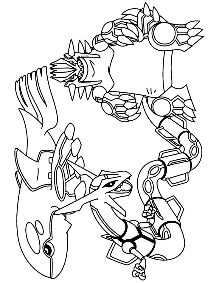 Coloring Page - Pokemon advanced coloring pages 219