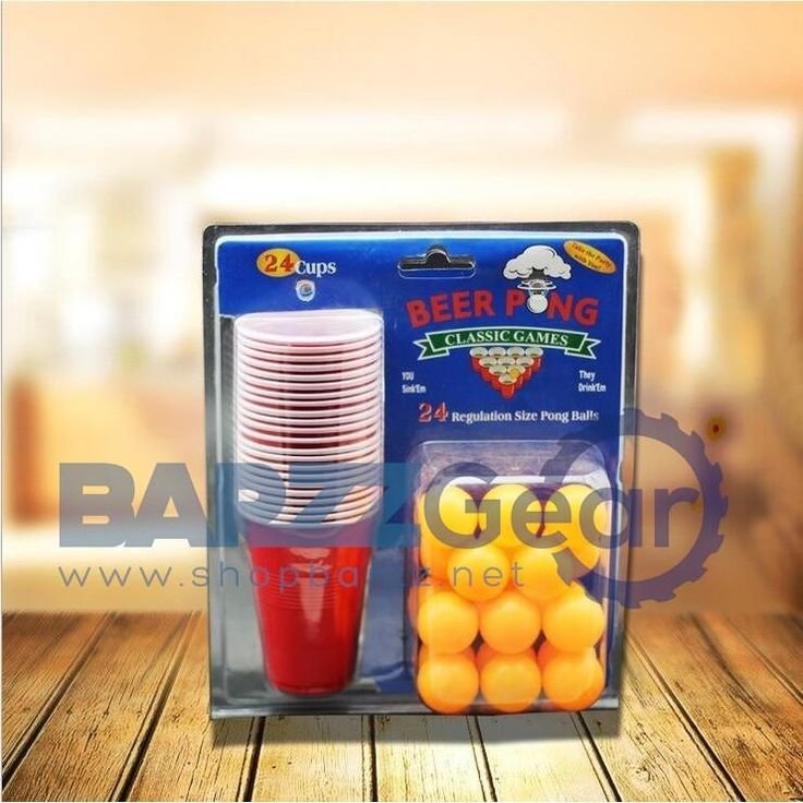 Pong Kit Party Game Drinking Barware Toy