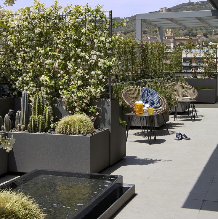 Molins Interiors // arquitectura interior - interiorismo - decoración - terraza - terrace - exterior - jardinería - penthouse - ático
