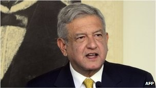 Mexico's Lopez Obrador rejects presidential poll ruling: http://www.bbc.co.uk/news/world-latin-america-19440654#
