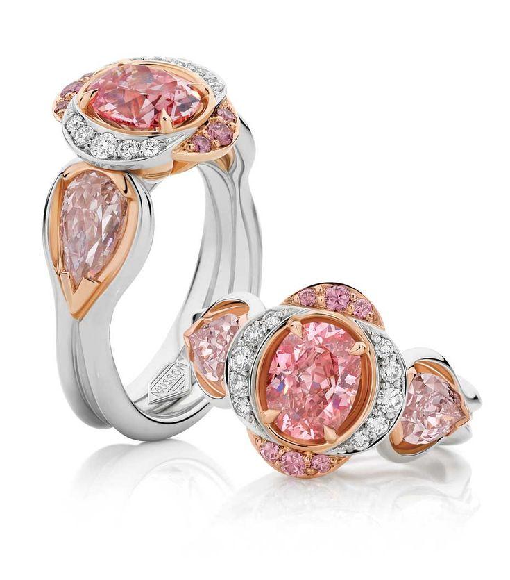 Musson Pink Diamond Ring