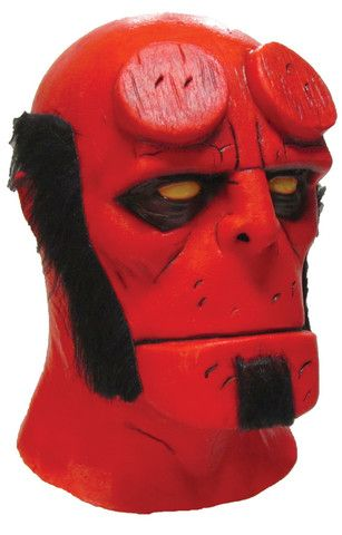 HELLBOY MASK- Full Over The Head Realistic Halloween MASK