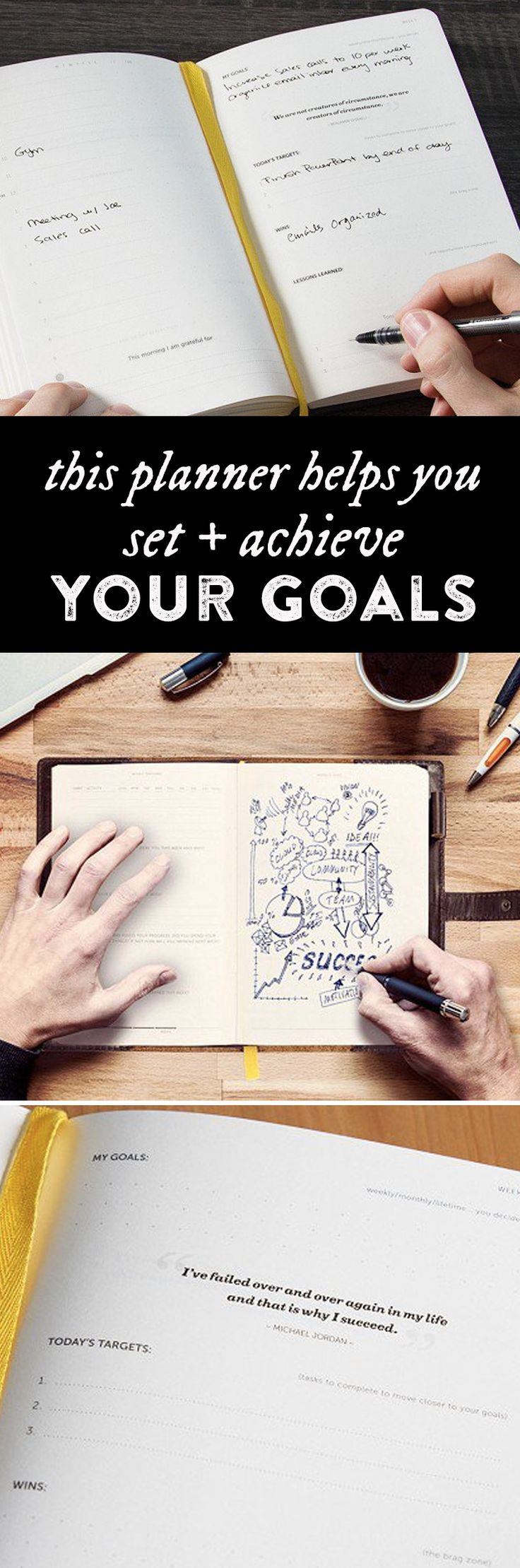 Turn lofty goals into smaller, daily action items—and see what you can achieve…