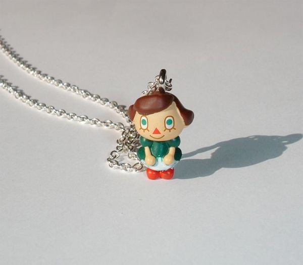 Animal Crossing necklace. Want!