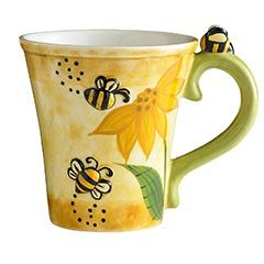 Bee MugBees Coffee, Honey Bees Kitchens Etc, Bees Happy, Bees Thebirdsandtheb, Bees Cups, Coffee Cups, Pier One, Bees Mugs, Bees Knee