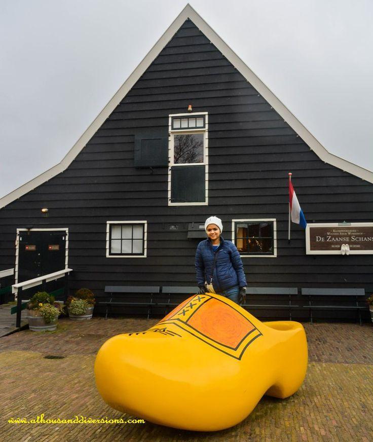 #ZaanseSchans #WoodenShoeMuseum