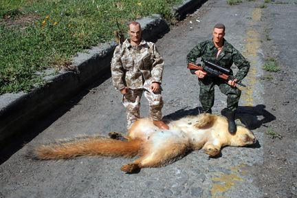 Why men should not own action figures.