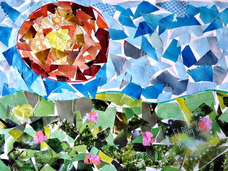 Collage - paisaje
