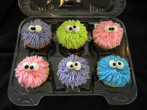 Cupcake Decorating Ideas For Guys : uber 1.000 Ideen zu ?Monster Cupcakes auf Pinterest ...