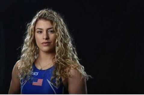 Helen can pin your shoulders to the mat!  Helen Maroulis is a Greek-American…