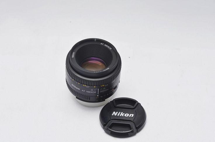 Jual Lensa DSLR Second – Lensa Nikon 50mm f/1.8 afd: Lensa Nikon 50mm f/1.8 afd Harga: Rp. 975.000,- (Ready Stok)