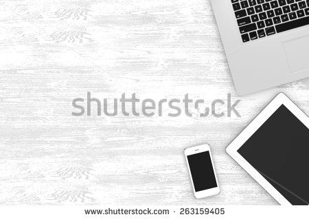 Workspace Top View Stock Photos, Images, & Pictures   Shutterstock