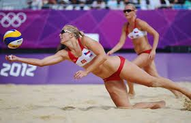 Beach Volleyball Men's and Women's Rio Olympics Semi Finals Games 2016