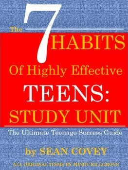Possible tell, covey effective habit highly sean teen phrase simply