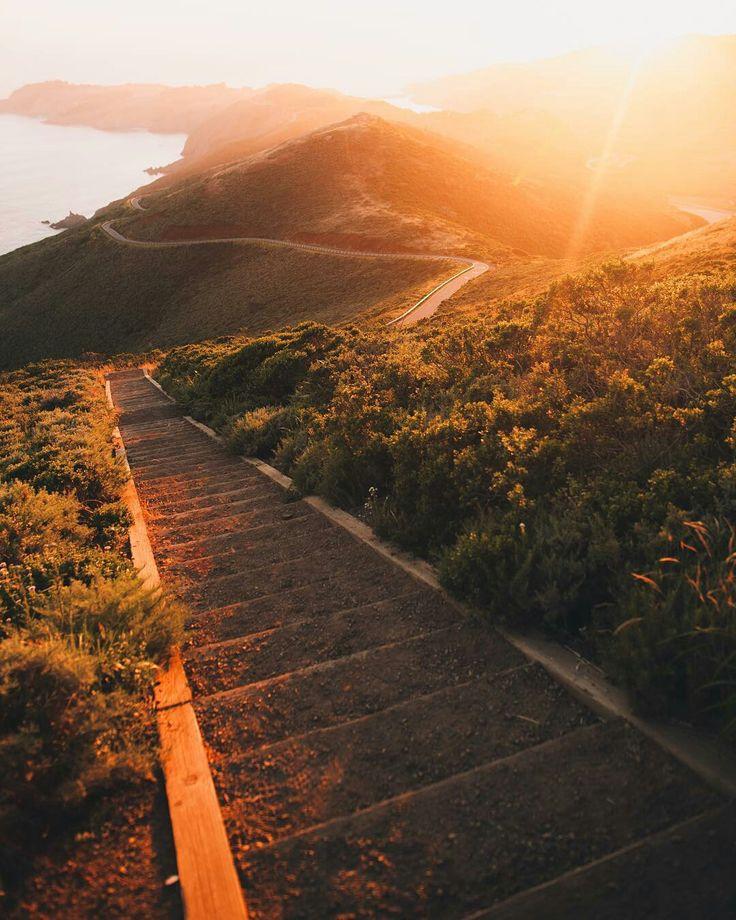 Marin Headlands California by Daniel Gorostieta #sanfrancisco #sf #bayarea #alwayssf #goldengatebridge #goldengate #alcatraz #california