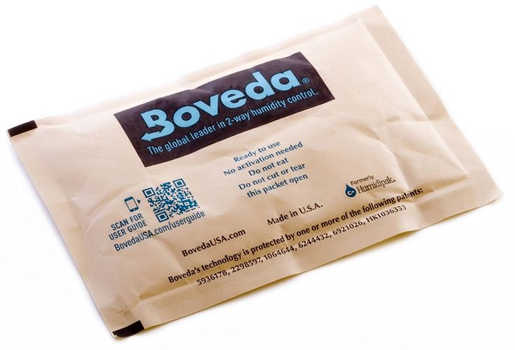 Boveda 72-Percent RH Individually Over Wrapped 2-Way Humidity Control Pack, 60gm: Amazon.ca: Home & Kitchen