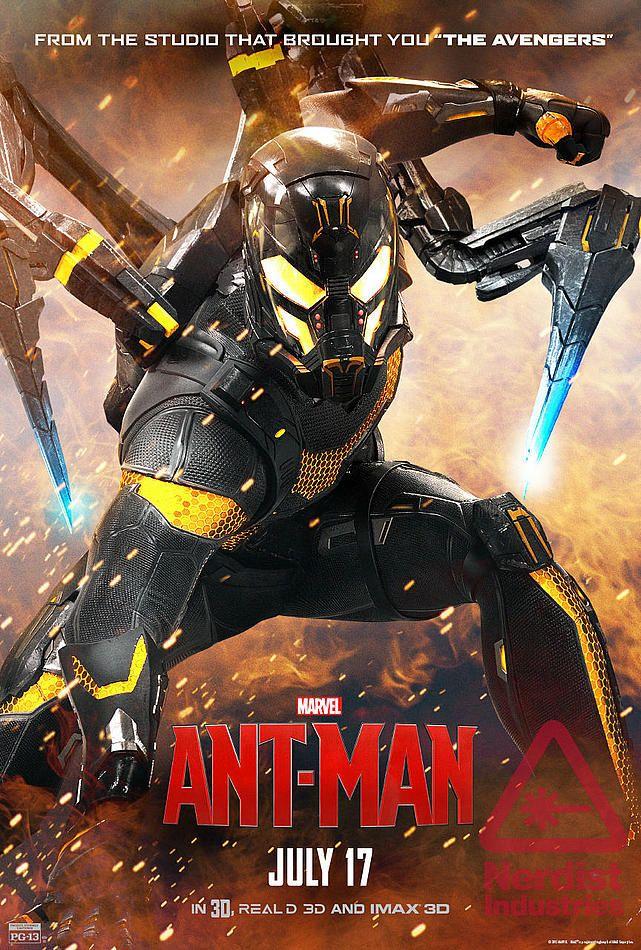 CINESCAPE | Blog | 'Ant-Man': Nuevos clips y póster muestran más de Yellowjacket
