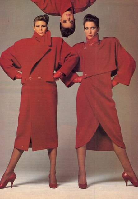 Gianni Versace fw 1984 by Richard Avedon