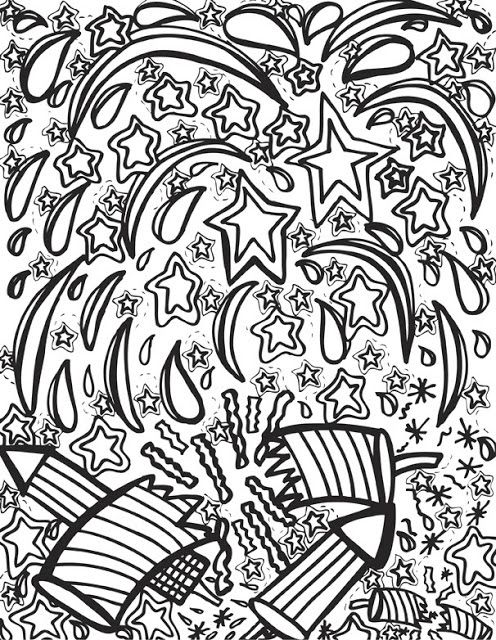 61 best 4th of july to color images on pinterest for 4th of july coloring pages for adults