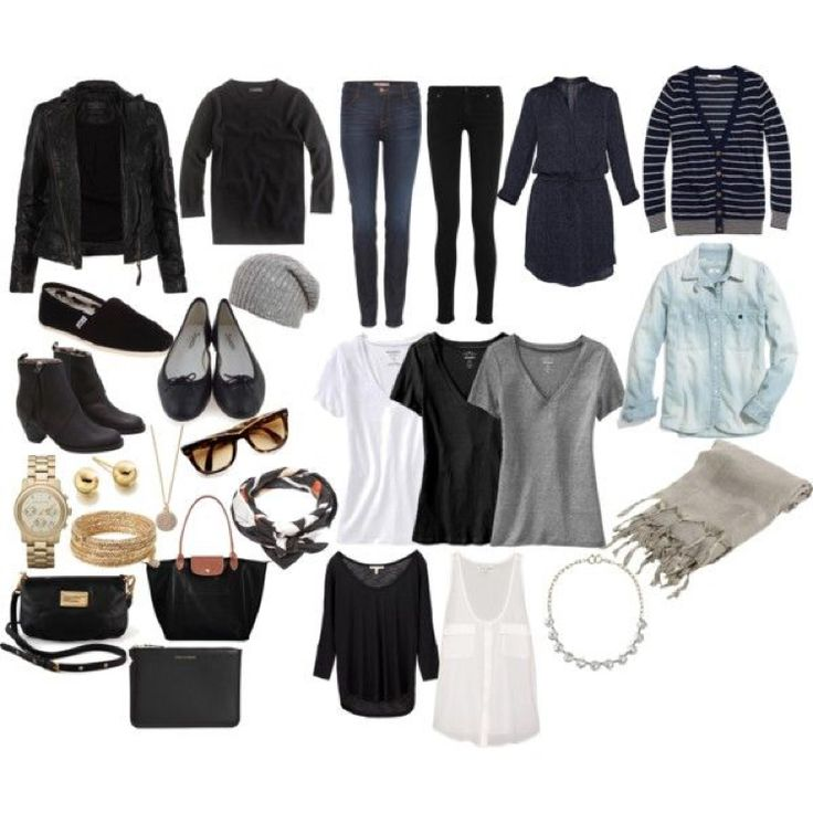 "pack light / only use a carry-on: ""Minimalist Packing"" by jessica5eme on Polyvore"