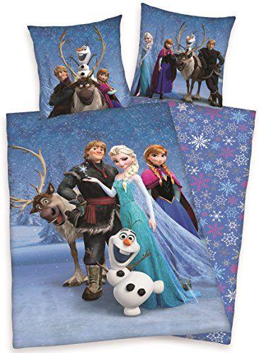 Bettwäsche mit Allover Print von Disneys Eiskönigin
